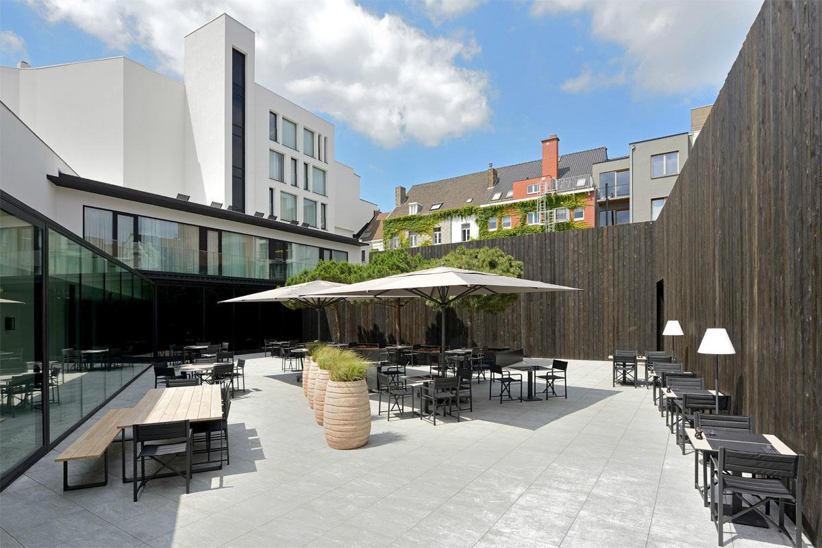 Terras hotel Kortrijk